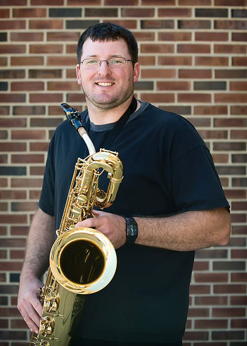 Pete Fink - Bari Saxophone - Rock River Jazz Band