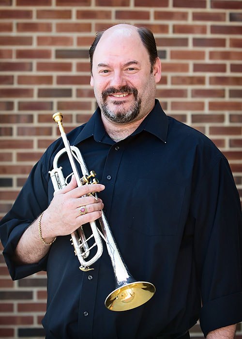 Jon P. James - Trumpet 2 - Rock River Jazz Band